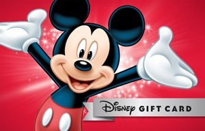 Buy Disney gift cards online